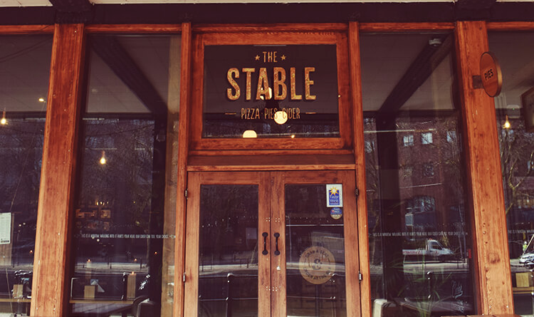 The Stable Bristol Sign