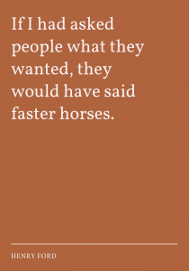 ask for faster horses business quotes